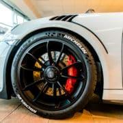 Porsche Michelin reifenmarke reifenaufkleber