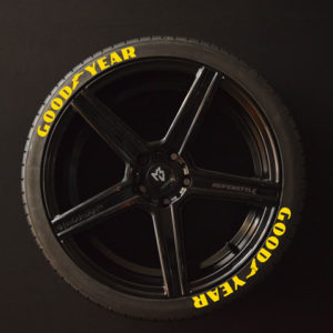 Reifenaufkleber-GOOD-YEAR-gelb-8er