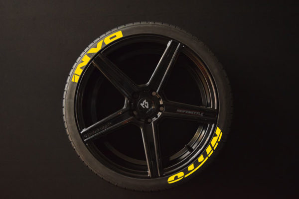 Reifenaufkleber-NITTO-INVO-gelb-8er