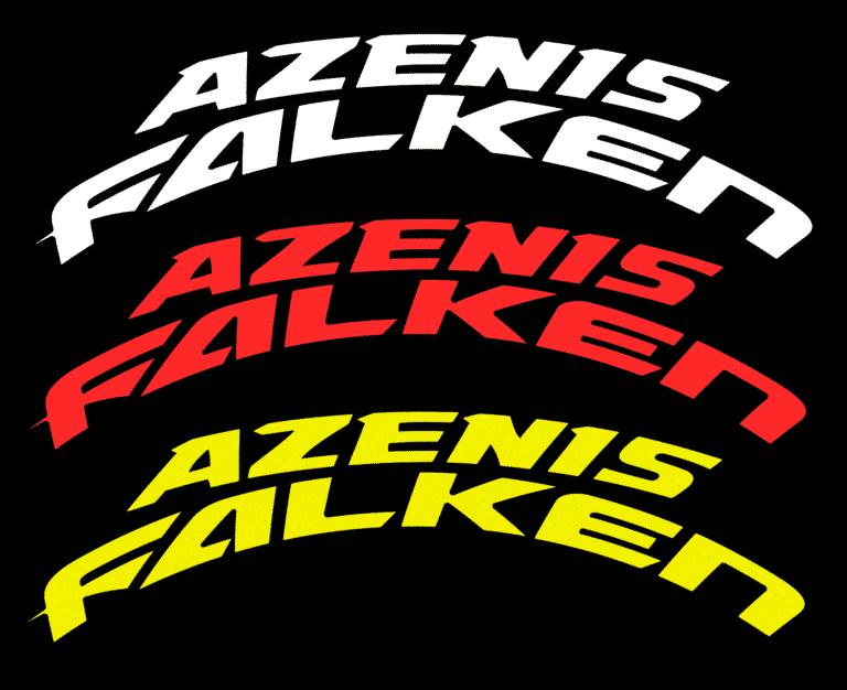 Falken Azenis Reifenaufkleber Tiresticker