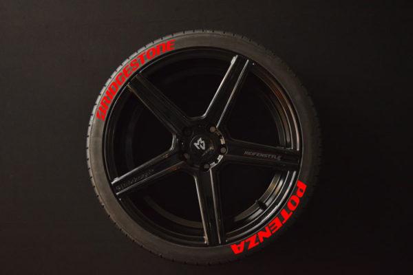 Reifenaufkleber-Bridgestone-Potenza-Rot-8er