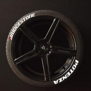 Reifenaufkleber-Bridgestone-Potenza-Weiss-8er