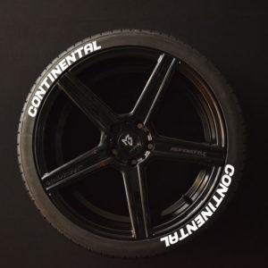 Reifenaufkleber-Continental-weiss-8er