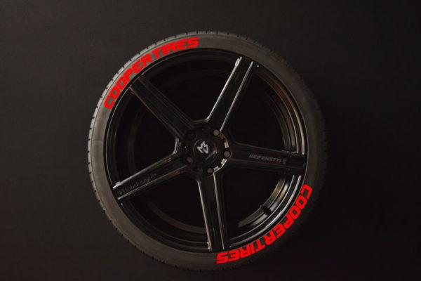 Reifenaufkleber-Cooper-Tires-rot-8er