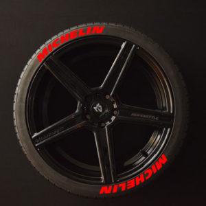 Reifenaufkleber-Michelin-rot-8er