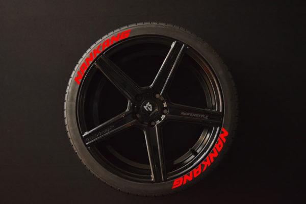 Reifenaufkleber-NANKANG-rot-8er