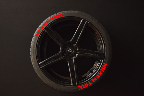 Reifenaufkleber-NEXEN-TIRE-rot-8er