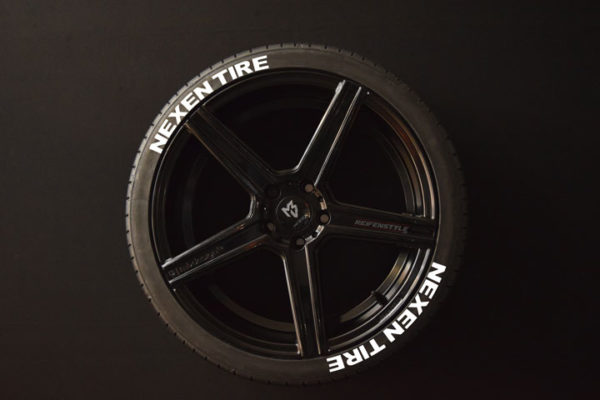 Reifenaufkleber-NEXEN-TIRE-weiss-8er