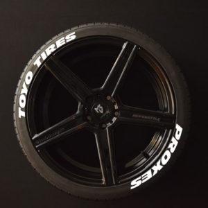 Reifenaufkleber-TOYO-TIRES-PROXES--WIDE-weiss-8er