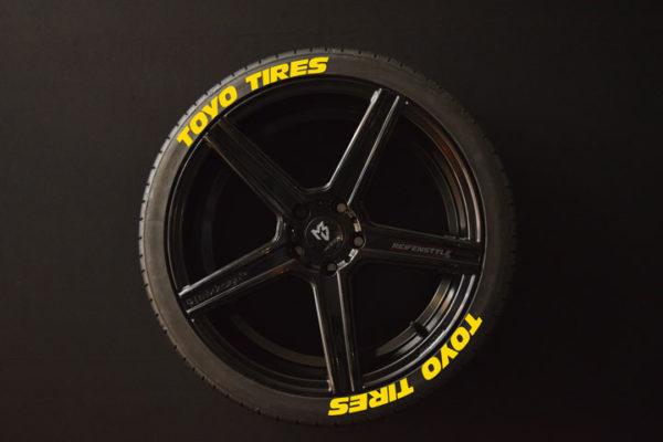 Reifenaufkleber-TOYO-TIRES--gelb-8er
