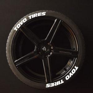 Reifenaufkleber-TOYO-TIRES--weiss-8er