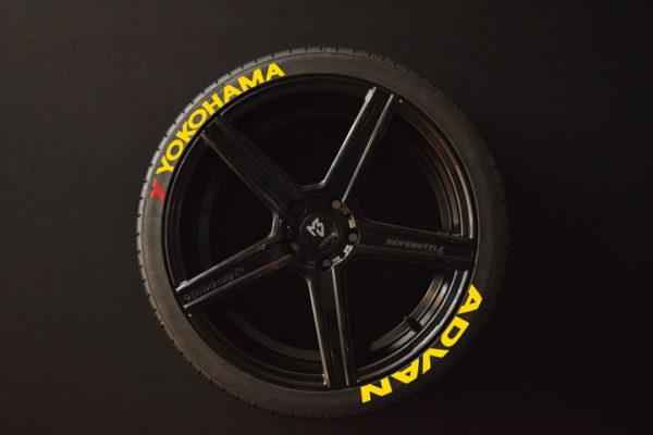 Reifenaufkleber-Yokohama-Advan-gelb-8er