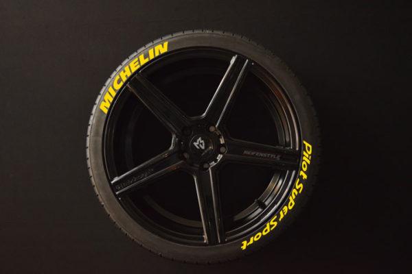 Reifenaufkleber-Michelin-Pilot-Super-Sport-gelb-8er