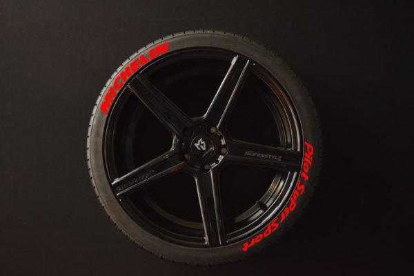 Reifenaufkleber-Michelin-Pilot-Super-Sport-rot-8er