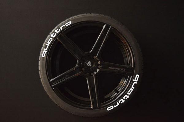 Reifenaufkleber-quattro-8er-weiß